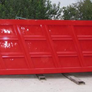 Sabbiatura e verniciatura di container