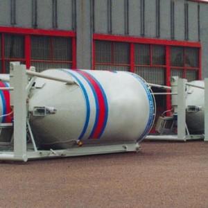 Sabbiatura e verniciatura di silos