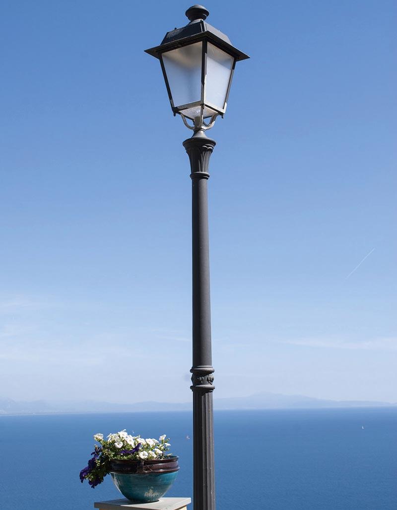 Verniciatura illuminazione pubblica